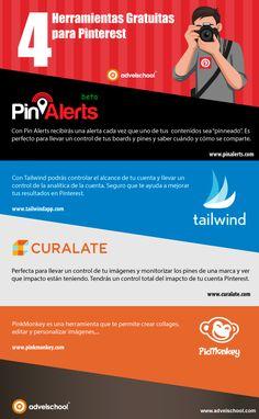 4 herramientas gratuitas para Pinterest