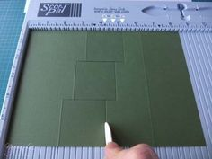 """From My Craft Room: 3-Step Card Tutorial (4 1/4"""" x 6"""" card)"""