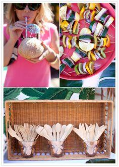 Amanda's tiki bridal shower | Amanda + Tim's wedding, Bachelorette + Shower | 100 Layer Cake