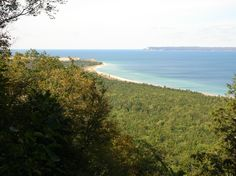 Sleeping Bear Bay from the Alligator Hill trail