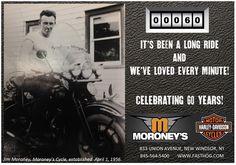 1956-2016.  #moroneys60  #moroneysbestyearever