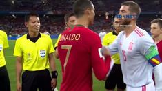 PORTUGAL VS SPANYOL SCORE 3-3