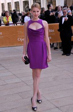 @roressclothes clothing ideas #women fashion Lauren Post: Purple Cutout Dress