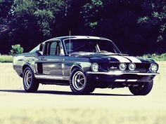 1967 Ford Mustang Shelby GT500.