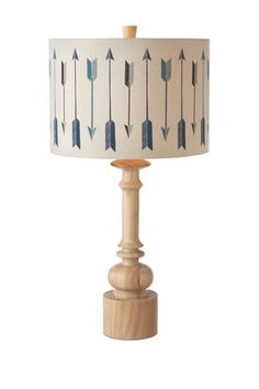 Arrow Table Lamp
