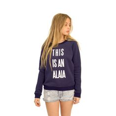 This Is An Alaia Sweater (It's like a totally important designer) @carisforever We. Need.