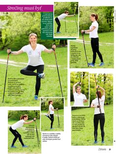 Stretching for Nordic Walking Fitness Workouts, Pole Fitness, Pilates Workout, Health Benefits Of Walking, Walking For Health, Walking Exercise, Nordic Walking, Sport, Rando