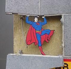 Street Art Part 3 - Art that Interacts with its Surroundings - Digital Art Mix: Murals Street Art, 3d Street Art, Amazing Street Art, Street Art Graffiti, Mural Art, Street Artists, Land Art, Urbane Kunst, Sidewalk Art