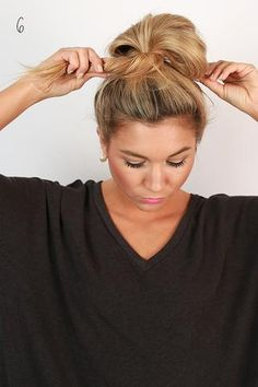 The Ultimate Messy Bun • Impressions Online Boutique