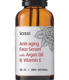 Serum przeciwzmarszczkowe z olejem Arganowym i witaminą E. Intensywne, dobrze przyswajalne Serum dla cery dojrzałej. Wspiera naturalny proces regeneracji skóry pomagając jednocześnie zredukować zmarszczki i wyrównać jej koloryt. Pozostawia skórę nawilżoną, odżywiona i naprężoną.
