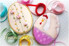 Easter Cookies, Cupcakes, Sugar, Desserts, Food, Eat, Halloween, Decorated Cookies, Easter