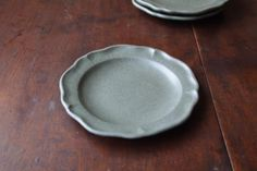 よしざわ窯/おうちカフェ食器/可愛い器【オトナミドリ 洋まる小皿】 - BLACK BEAR :手作りの器とナチュラル雑貨