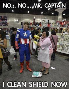 No no Mr Captain (Favorite Meme Captain America)