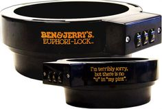 Pint Lock from ben and jerrys.