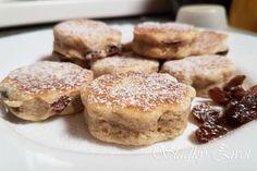 Welšské koláčiky - Sladký život French Toast, Muffin, Breakfast, Food, Basket, Cilantro, Morning Coffee, Essen, Muffins