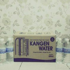 Kangen water 600 ml (ph 8 -9.5 )