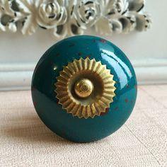Ceramic Knobs Drawer Knob Dresser Knobs Porcelain by jade4wood