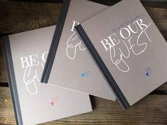Personalised Wedding Guest Book By Illustries from notonthehighstreet.com