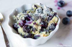 Blueberry custard recipe