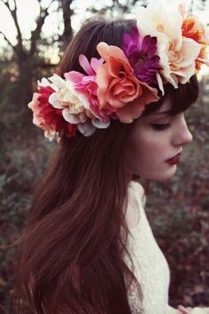 Beautiful floral crown