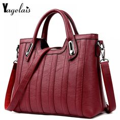 2019 New European and American Style Women Totes Leather Ladies Clutch Single Shoulder Bags Crossbody Bags Soft Fashion Handbags Handbags On Sale, Luxury Handbags, Fashion Handbags, Purses And Handbags, Cheap Handbags, Clutch Handbags, Wholesale Handbags, Women's Handbags, Leather Crossbody