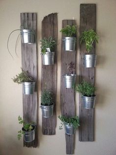 Use Old Steel Buckets