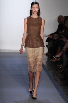 Peter Som Fall 2012- not loving the skirt, but the top is cute!