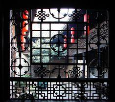 CultureInCart — Traditional Chinese antique carved window lattice ...