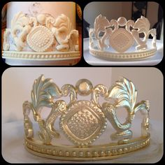 - Egyptian  Queen Tiara I did using my wilton molds and home made snake mold I made love the turn out