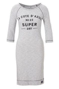 Dames Jurken - Superdry Harbour Slouche Crew jurk