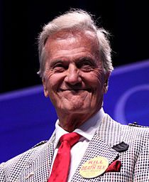 Pat Boone1934-Focused on gospel music in 1960's. Father of Debby Boone. Member of Gospel Music Hall of Fame