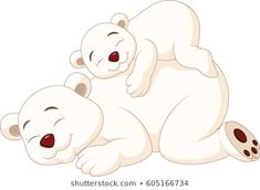 Find Cartoon Mother Baby Polar Bear Sleeping stock images in HD and millions of other royalty-free stock photos, illustrations and vectors in the Shutterstock collection. Thousands of new, high-quality pictures added every day. Polaroid, Baby Polar Bears, Mother And Baby, Clipart, Cute Pictures, Hello Kitty, Royalty Free Stock Photos, Cute Animals, Sleep