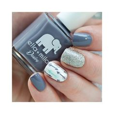 Get inspirations from these cool stylish nail designs for short nails. Find out which nail art designs work on short nails! Fancy Nails, Love Nails, Diy Nails, How To Do Nails, Trendy Nail Art, New Nail Art, Cute Nail Art, Gray Nail Art, Chevron Nail Art