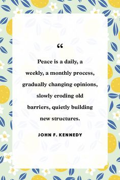 25 Quotes to Remind Us What Peace is All About