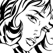 Resultado de imagen de roy lichtenstein coloring pages