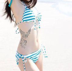 phoenix side tattoos for girls