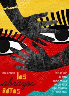 Los abrazos rotos (Broken Embraces) (2009) - Minimal Movie posters by Marija Markovic