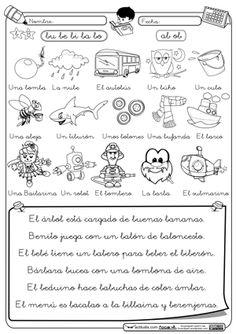 ejercicios para diferenciar b y d para niños - Buscar con Google