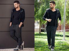 H&M Hooded Jacket, H&M T Shirt, H&M Sweatpants