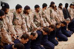 Eerste collectieve onthoofding van IS(IS), ook van Peter Kassig Het is nauwelijks te geloven maar de terreur van IS(IS) neemt met de dag nog gruwelijker vormen aan, ondanks de aanhoudende luchtbombardementen van de Amerikanen en hun bondgenoten. Op zondag16 november 2014plaatste de terreurgroep op het internet een videofilm, zeer professioneel opgenomen, waarop jihadisten minstens achttien …