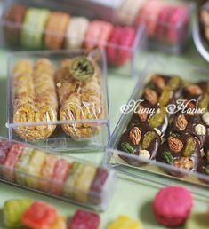 *パリのお菓子ギフトとパンのセット*