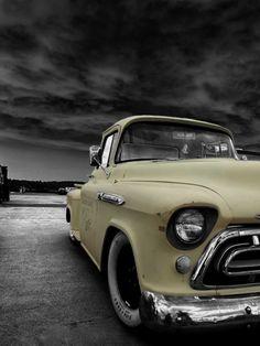 1955 Chevrolet Apache pickup | repinned by www.BlickeDeeler.de
