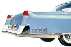 1955 Cadillac Fleetwood 60 Special.