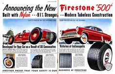 Old Tire Ads | The Jalopy Journal The Jalopy Journal