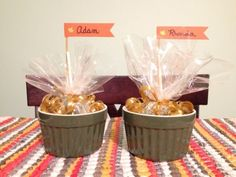 Dollar Store Crafts Tutorial: Candy Dish Place Card Table Favors with Dollar General