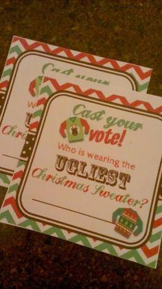 Ugly Sweater Christmas Party! ¦ Casa de Crews
