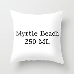 Personalized Pillow Cover Favorite Place by RiverOakStudio on Etsy