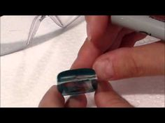 How to add an eyepin to resin charms #resin