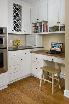Family Style Kitchen - traditional - Kitchen - Minneapolis remodel by Sicora Design/Build. Unique storage ideas.