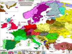 A linguistic map of the languages and dialects within Europe MuturZikin - Linguistic maps of Europe, Africa, America and Oceania. Priority is given to endangered languages and minority linguistic...